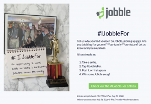 #IJobbleFor Contest Details
